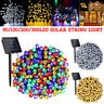 50-300 LED Outdoor Solar Power String Light Garden Christmas Fairy Xmas Decor