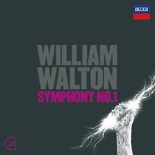 Walton: Symphony No.1; Cello Concerto - Cohen Bournemouth Symphony Orch (NEW CD)