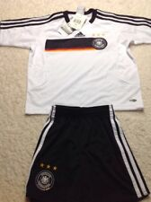 adidas Germany Kids Replica Jersey & Short Set, Size 2 XSM New With Tags