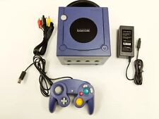 Nintendo GameCube Console Indigo Purple Console System Tested Fast Free Shipping