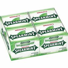 Wrigley's Spearmint Gum, 15-Stick Slim Packs (Pack of 20)