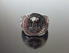 Thor's Hammer 925 Sterling Silver Ring Mjolnir Viking Scandinavian Norse Amulet