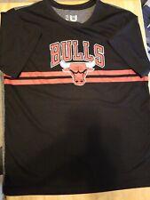 Chicago Bulls Performance T Shirt Boys Sz 18-20 XL
