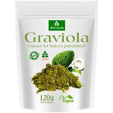 120g Graviola Extrakt 4:1- hochkonzentriertes Frucht Pulver, Sauersack  (1x120g)