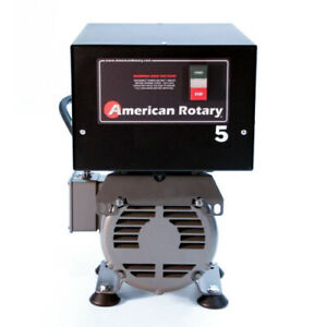 American Rotary Phase Converter AR5F - Floor Unit 5HP Made in USA