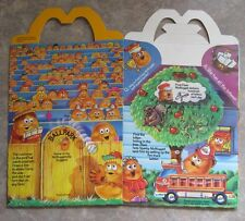 1988 McDonalds Happy Meal Box - McNugget Buddies - RARE!  #3