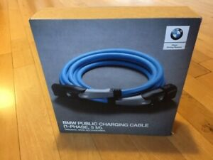 Genuine BMW Charging Cable,1-Phase,7.4kW, ElectricBattery &Plug-inHybrid car
