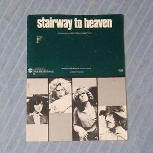 LED ZEPPELIN Stairway to Heaven Sheet Music