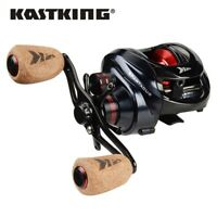 KastKing Spartacus Plus Baitcasting Reel Freshwater Fishing - Rubber Cork Handle