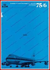 ANNUAL REPORT - KLM ROYAL DUTCH AIRLINES 1975-1976 - DUTCH