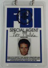 Special Agent Fox Mulder / FBI Neck Chain ID Novelty / X-Files