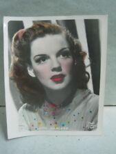 Antique card photography Judy Garland - Metro Goldwyn Mayer