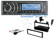NEW Q AUDIO DIGITAL MEDIA STEREO RADIO RECEIVER W/ AUX/USB INPUTS W/ INSTALL KIT