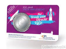 Coincard Netherlands 5 Euro 2013 Het Vrede van Utrecht Vijfje