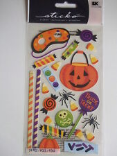 STICKO STICKERS - HALLOWEEN SWEETS trick or treat