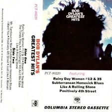 """BOB DYLAN """"GREATEST HITS"""" CASSETTE 1967 columbia"""