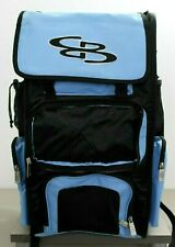 Boombah Baseball Softball Superpack Black Blue Missing Front Flap