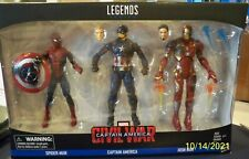 Marvel Legends Series Captain America Civil War Spider-man Iron Man