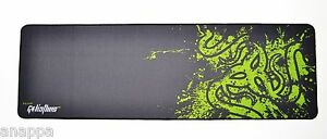 """Razer Goliathus XL Extended Gaming Mouse Keyboard Pad Stitched Edges 36""""x11.5"""