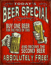 Today's Beer Special #2186  Reproduction Garage Man Cave