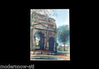 Jean CARZOU Lithograph LIMITED Edition * L'Arc De Triomphe...*Sign +Custom FRAME