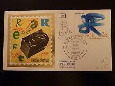 FRANCE PREMIER JOUR FDC YVERT 1951  TABLEAU DE EXCOFFON   3F   PARIS  1977