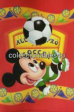 POSTER mickey donald disney soccer  11x16
