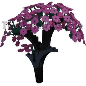 Custom LEGO Flower Tree - train city castle new rare