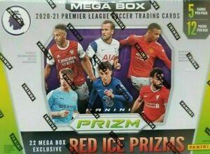 2020-21 Panini Prizm Premier League EPL Soccer *SEALED* MEGA BOX - IN HAND UK!