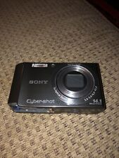 Sony Cyber-shot DSC-W370 14.1MP Digital Camera - Silver. Bid!