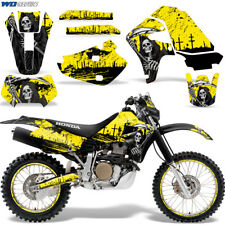 Honda XR650 Graphic Decal Kit Dirt Bike Sticker Wrap XR650R 2000-2010 REAP YLLW