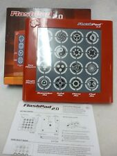 FLASHPAD 2.0 ELECTRONIC LIGHT & TOUCH GAMES 5 GAME MODES 2 PLAYERS ORIGINAL BOX