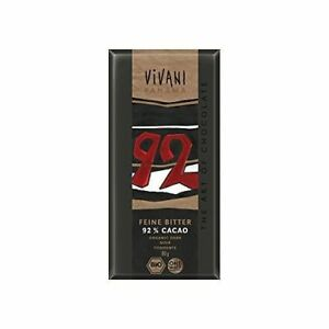 Dark with 92% Panama Cocoa Chocolate  80g Pack of 5