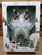 Disney Christmas Holiday 2019 Mickey & Minnie Mouse Light Up Tree Topper - NEW