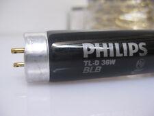 lot of 5 PHILIPS TL-D Blacklight Blue TL-D 36W BLB 1SL/25 Black Fluorescent