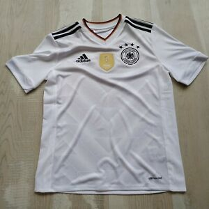 Germany soccer kids jersey 13-14 years 2017 home shirt B47863 soccer Adidas UA1