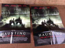 2 1999 The Haunting Original Movie House Full Sheet Posters