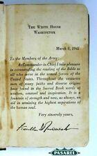 Rare Jewish Holy Scriptures Book Washington 1942