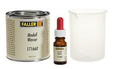 Faller 171660 Premium-Modellwasser, contenuto 385ml (1 Liter =