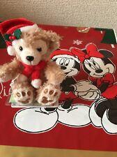 Tokyo Disney Sea Japan: Mini Duffy Plush Chain: Very Merry Snowtime (E6)