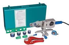 PPR Rohr Aqua Plus Koffer Set Polyfusionsmaschine Matrizen von 20 - 40 Schere ..