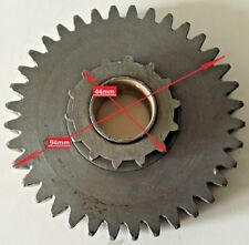 QUADZILLA PGO BUGRIDER BR250 BUGGY INPUT GEAR 36 TOOTH. 36T/14T REVERSE GEARBOX