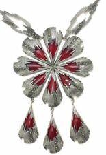 Collares y colgantes de joyería con gemas marrón