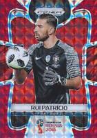 2018 Panini Prizm World Cup Russia '18 Portugal Red Mosaic Parallel #154 - #162