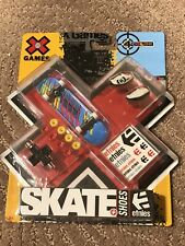 New listing New X GAMES Mattel SKATE + SHOES etnies STICKERS 96mm Fingerboard WHEELS 4 Color