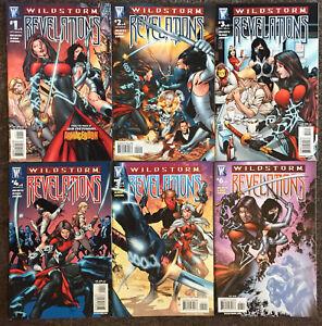 Wildstorm Revelations # 1 2 3 4 5 6 Complete Set Comics Gage Lot