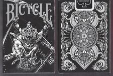 1 DECK Bicycle BLACK Asura playing cards