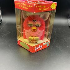 "NIB 1999 Ltd Ed Valentine's Day Pink ""I Love You"" Furby Sealed Untested 70888"
