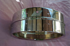1970's LUDWIG SUPRAPHONIC-400 5X14 CHROME SNARE SHELL for DRUM SET! #J444