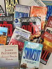 MIXED RANDOM LOT 12 books James Patterson Thriller Mystery no repeats FREE SHIP